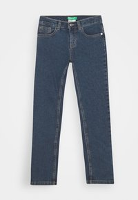 Benetton - BASIC BOY - Slim fit jeans - blue denim - 0