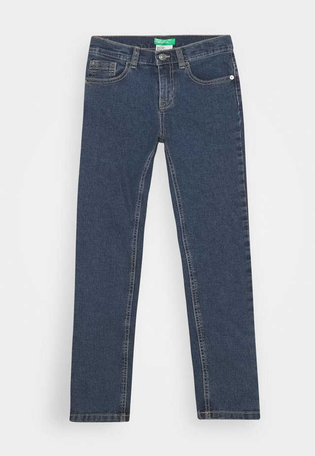 BASIC BOY - Jean slim - blue denim