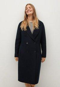Violeta by Mango - NAVY - Classic coat - dunkles marineblau - 0