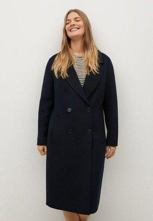 NAVY - Wollmantel/klassischer Mantel - dunkles marineblau