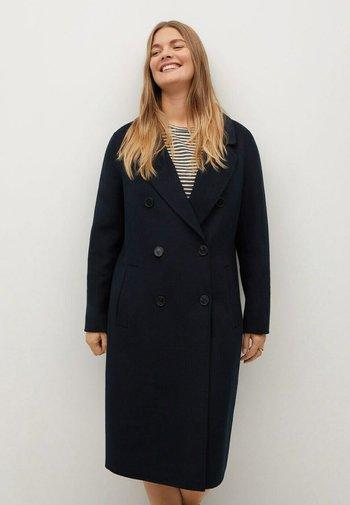 NAVY - Classic coat - dunkles marineblau