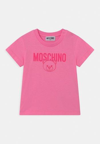 UNISEX - T-shirt print - begonia pink