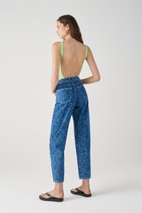 PULL&BEAR - SMILEY - Jeans Tapered Fit - blue - 2