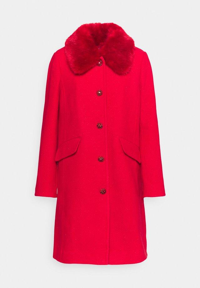 JEWEL COAT - Zimní kabát - crimson