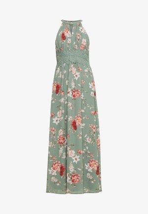VIMILINA FLOWER DRESS PETIT - Maxi dress - green milieu