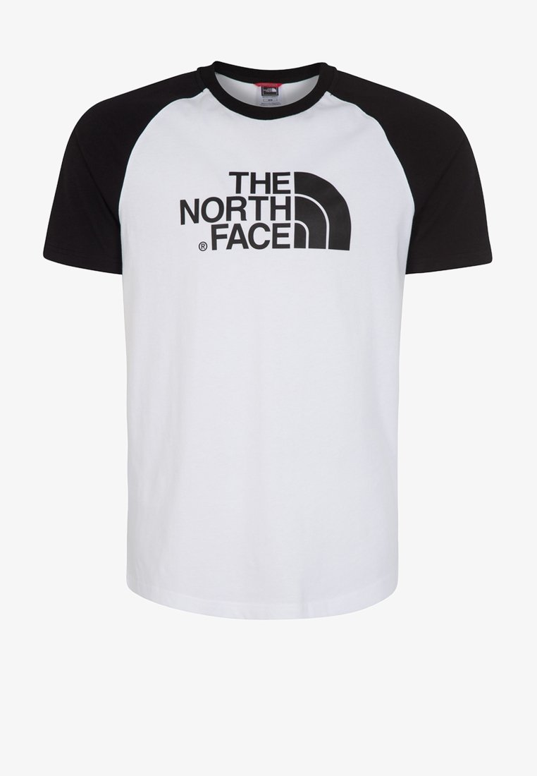 The North Face - EASY - T-shirt imprimé - white/black