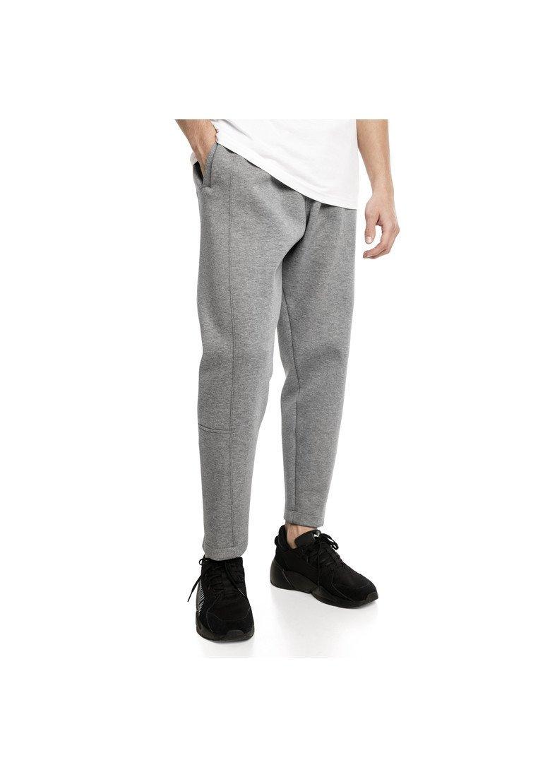 Puma - EPOCH - Tracksuit bottoms - medium gray heather