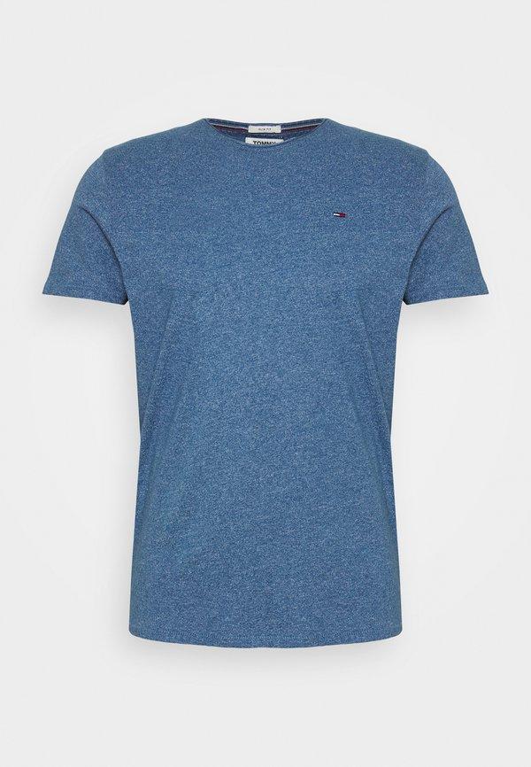 Tommy Jeans ESSENTIAL JASPE TEE - T-shirt basic - audacious blue/niebieski melanż Odzież Męska YFSF