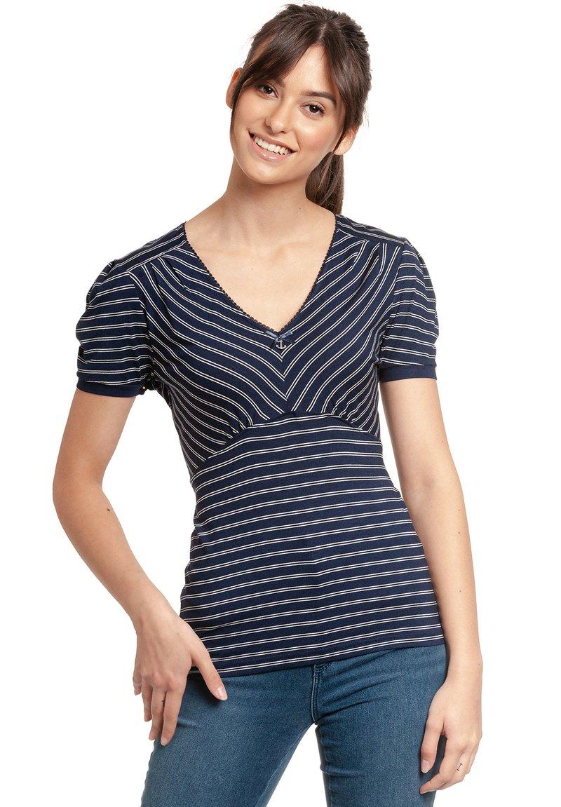 Vive Maria - Print T-shirt - blau allover