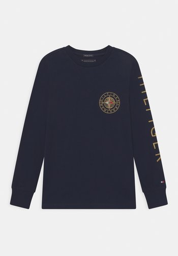 ICON ROUNDALL - Long sleeved top - blue