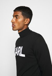 KARL LAGERFELD - ROLLNECK - Jumper - black - 4
