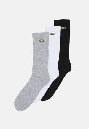 3 PACK - Chaussettes - argent chine/blanc/noir
