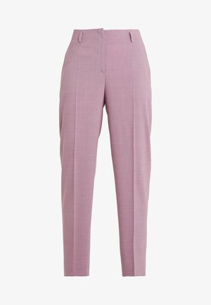 HULESIA - Spodnie materiałowe - medium red