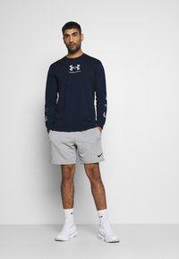Under Armour - MULTI LOGO - Long sleeved top - academy/halo gray - 1