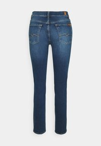 7 for all mankind - Straight leg jeans - mid blue - 1