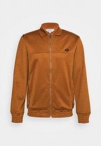 Ben Sherman - TRICOT COLLAR ZIP THROUGH - Training jacket - caramel - 4