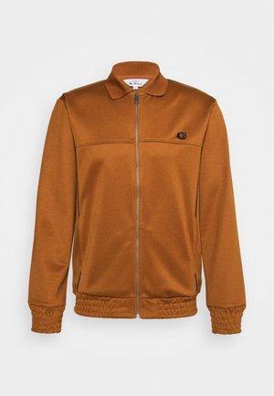 TRICOT COLLAR ZIP THROUGH - Training jacket - caramel