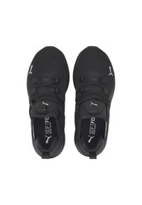 Puma - ENZO  - Chaussures de running neutres - black-metallic silver - 2