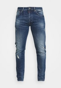 Tigha - MORTEN REPAIRED - Slim fit jeans - mid blue - 3