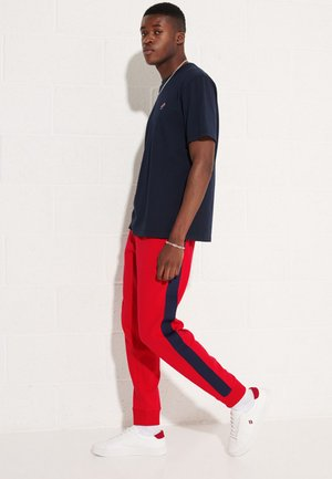 Tracksuit bottoms - risk red