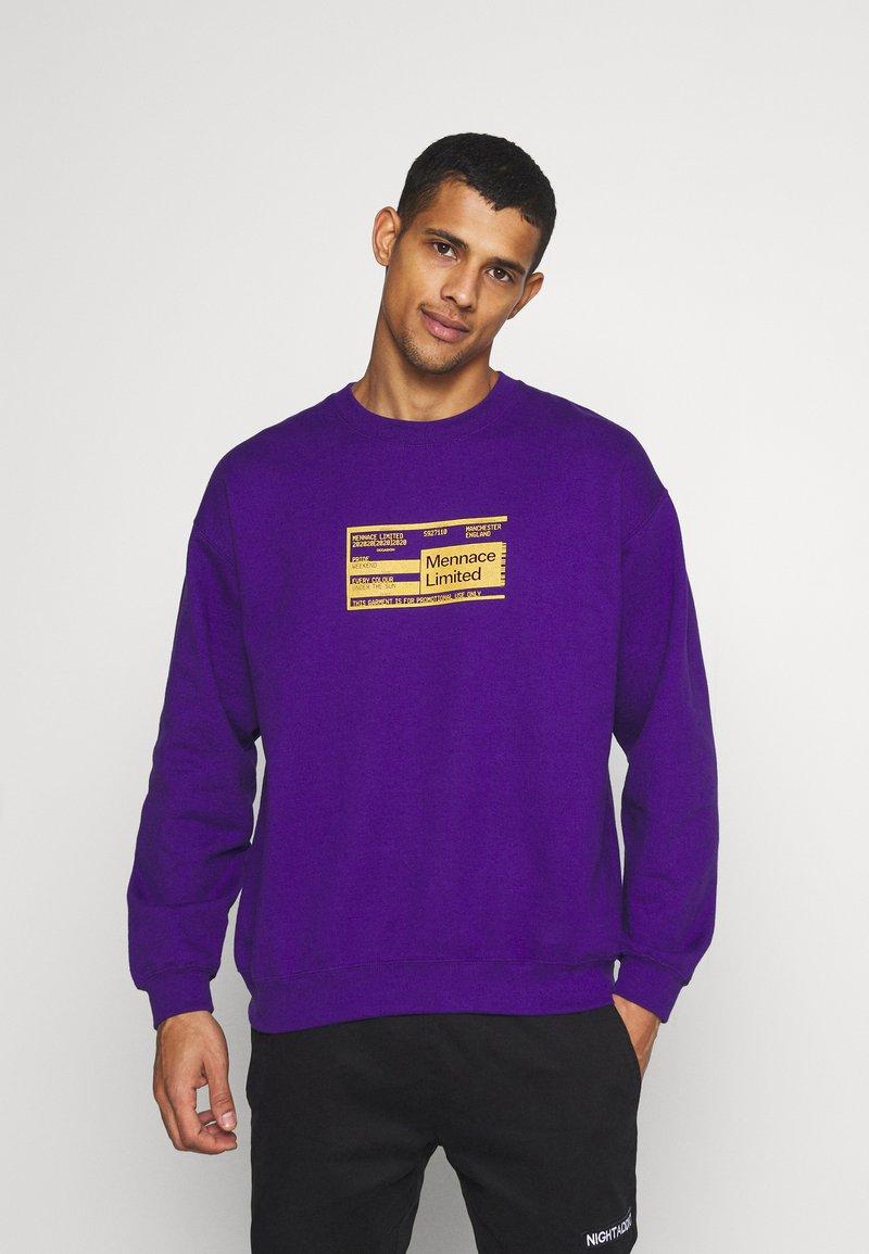 Mennace - UNISEX PRIDE TICKET SWEATSHIRT - Sweatshirt - purple