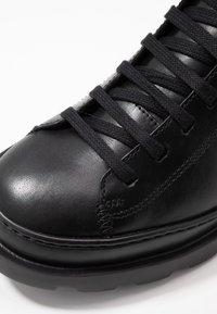 Camper - BRUTUS - Lace-up ankle boots - black - 2