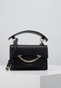 KARL LAGERFELD - SEVEN SHOULDERBAG - Across body bag - black - 4