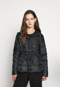 MICHAEL Michael Kors - LOGO PUFFER - Down jacket - black - 0