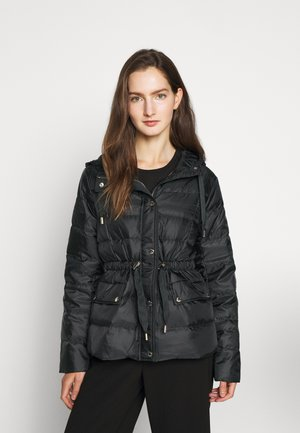 LOGO PUFFER - Down jacket - black