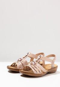 Rieker - Sandals - rosa - 4