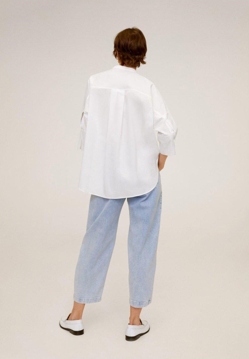 Mango POPI - Overhemdblouse - cremeweiß - Dameskleding Origineel