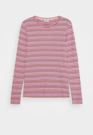 JOY STRIPE TALINO - Langærmede T-shirts - multi/rose