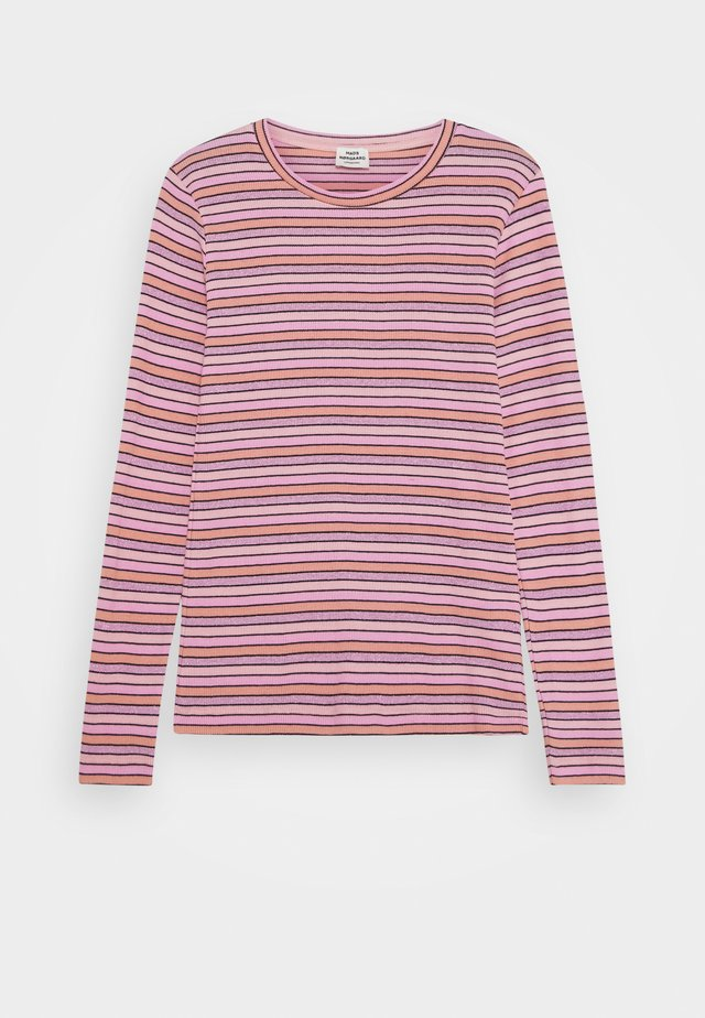 JOY STRIPE TALINO - Topper langermet - multi/rose