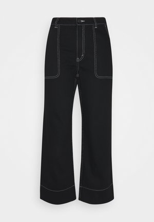 NEW RIO  - Jeans relaxed fit - black dark