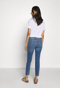 Mavi - ADRIANA ANKLE - Jeans Skinny Fit - mid frayed denim - 2