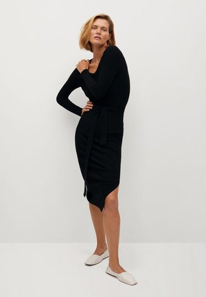 GOLETA - Jumper dress - noir