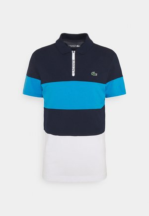 GOLF BIG STRIPE - Polo shirt - navy blue/ibiza/white
