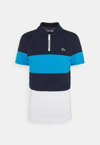 GOLF BIG STRIPE - Poloshirt - navy blue/ibiza/white