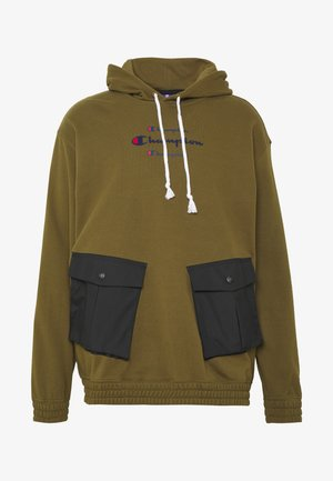 ROCHESTER WORKWEAR HOODED - Huppari - olive