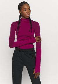 adidas Performance - Long sleeved top - power berry/purple - 0