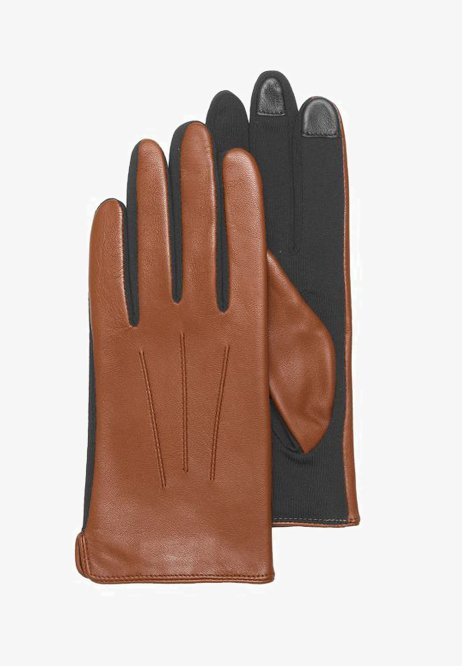 Otto Kessler - Gloves - tobacco
