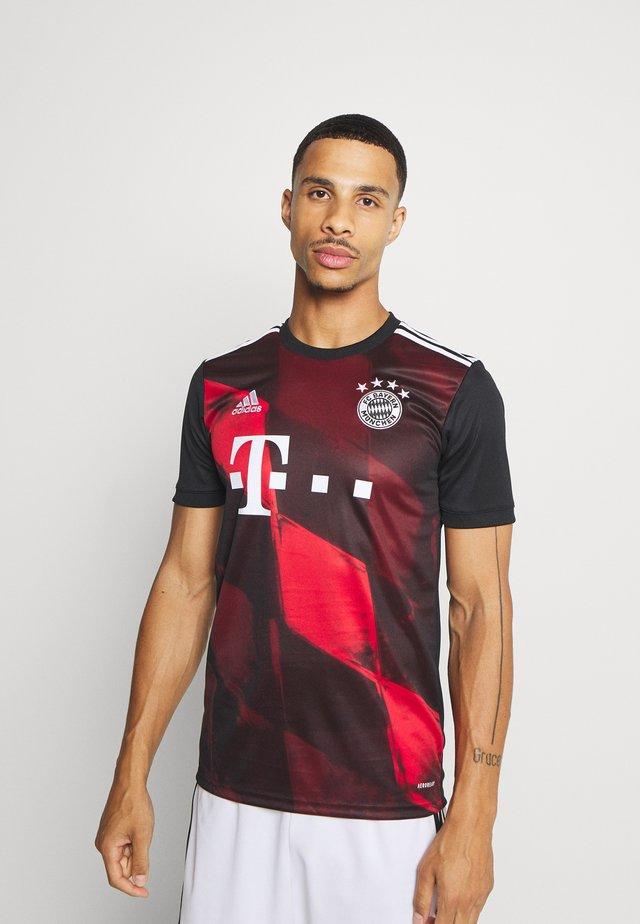 FC BAYERN MUENCHEN AEROREADY FOOTBALL - Fanartikel - black