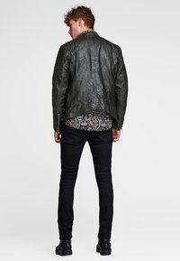 Jack & Jones - Leather jacket - black - 2
