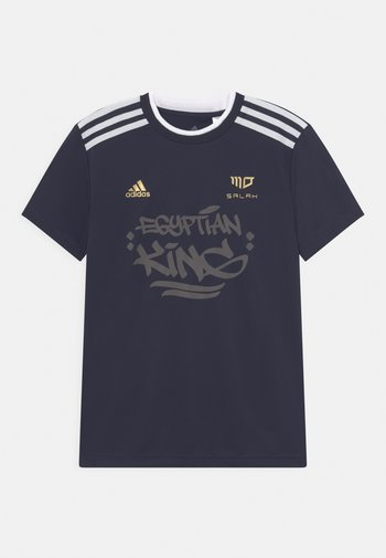 SALAH TEE UNISEX - Print T-shirt - legend ink/white/gold