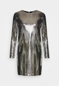 Vero Moda - VMCHARLI SHORT SEQUINS DRESS - Cocktail dress / Party dress - black/silver - 5