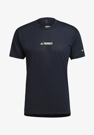 TERREX PARLEY AGRAVIC TRAIL ALL-AROUND - T-shirt con stampa - blue