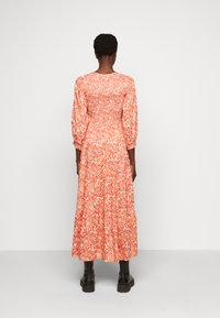 YAS Tall - YASDAMASK LONG DRESS - Robe longue - whisper pink - 2