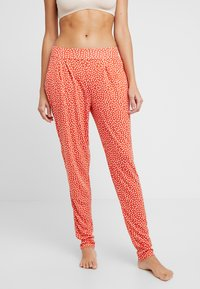 s.Oliver - Pyjama bottoms - orange/creme - 0