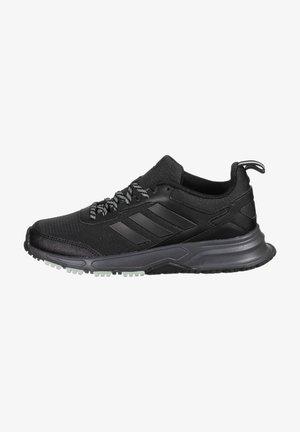 ROCKADIA  - Trail running shoes - core black / grey six