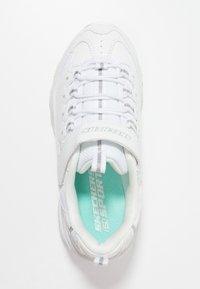 Skechers - D'LITES - Sneaker low - white/silver - 1